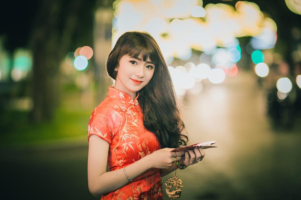 tender Chinese girl