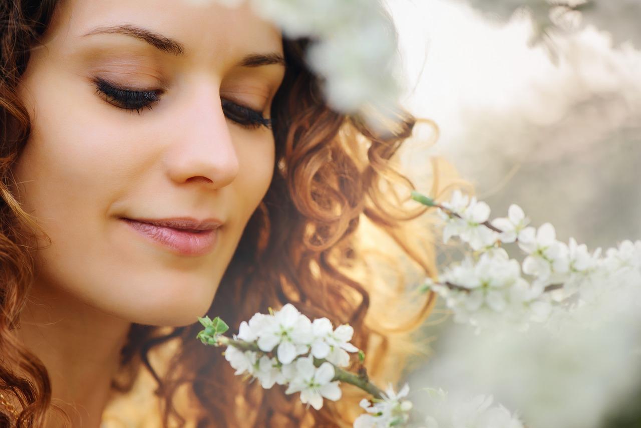 tender beautiful girl