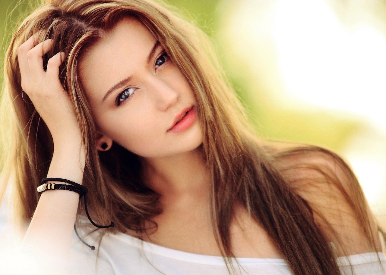 young hot woman