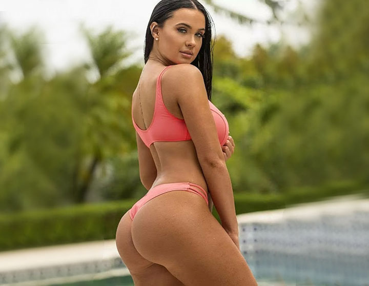 latin Colombian hot girl with big ass